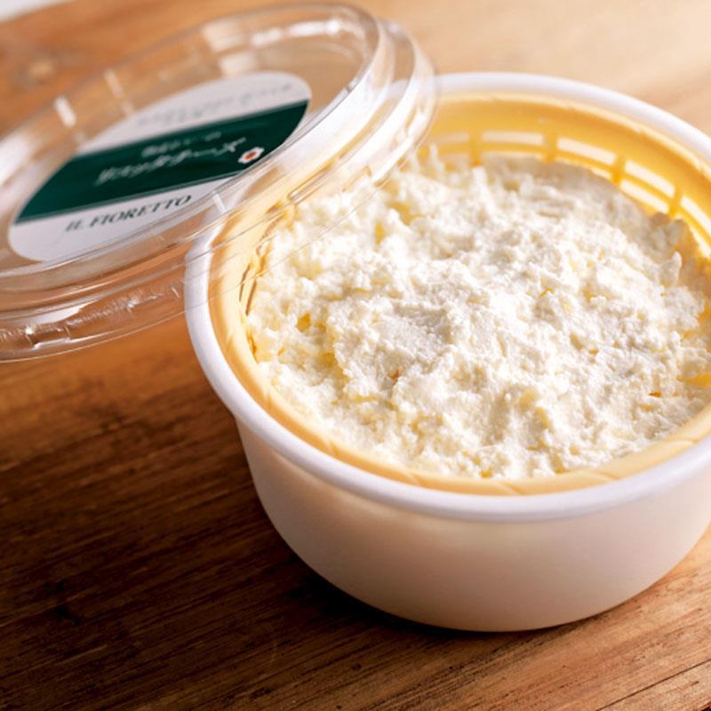 熟成ホエーのリコッタチーズ